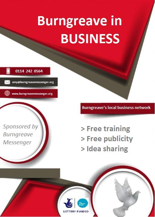 business in Burngreave flier