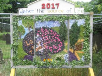 Well Dressing 2017. Photo by Dave Yates.