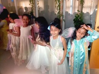 The fairies at Shakespeare Showtime
