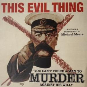 This evil thing poster