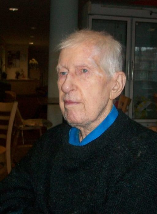 Dunkirk veteran Ernest Palmer.