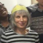 Library volunteer Annie Blindell.