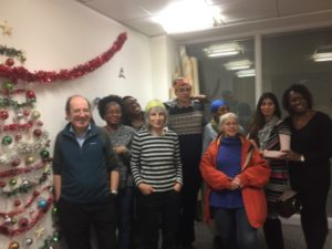 Burngreave Library volunteers got together and had a great time at their Christmas party.