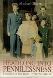 Baby Michael and his family pictured on the cover of his autobiography