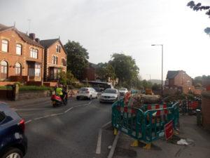 Barnsley Road traffic