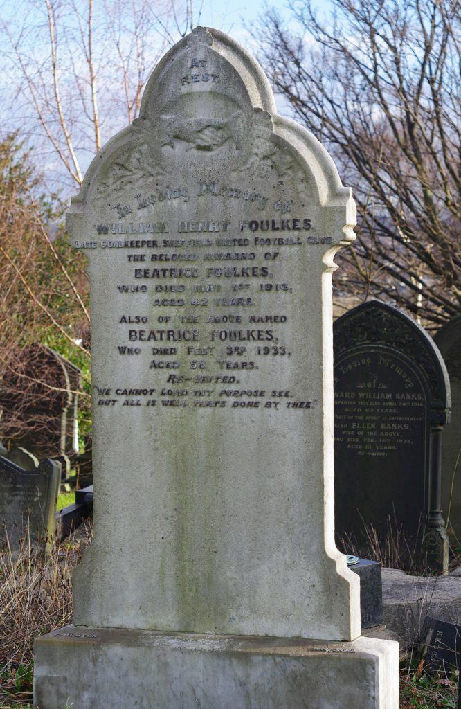 Henry Foulke's gravestone.