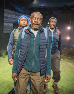 A scene from Black Men Walking.