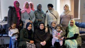 Women's creative language group
