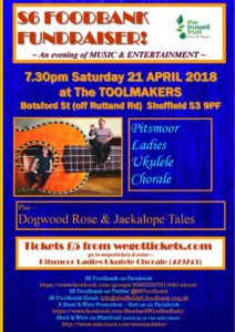 S6 Foodbank fundraiser @ The Toolmakers