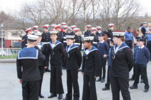 Group of Cadets