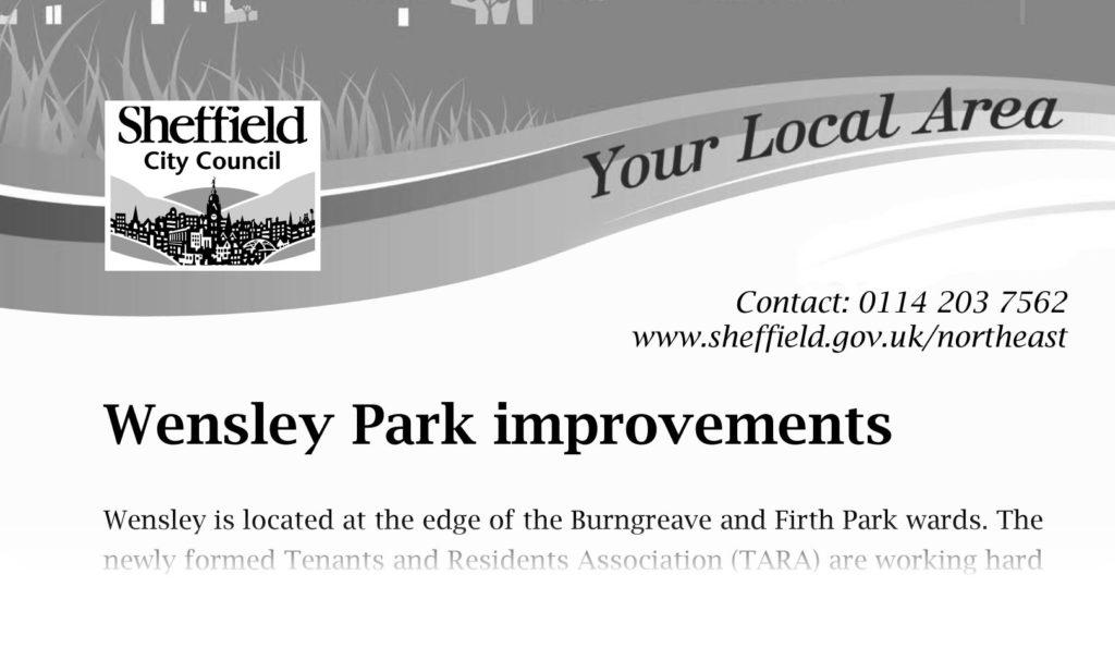 Wensley Park improvements
