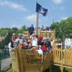 The Lucky Gordon pirate ship