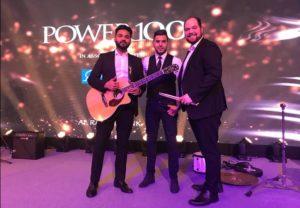 Ahmad Hussain and band.