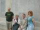 Mellors at the memorial