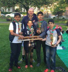 Scots Group Beckford Peg Hike and Challenge