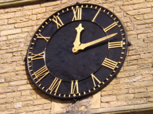 Burngreave Cemetery Clock Face