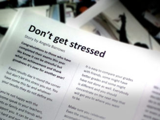 Don't get stressed