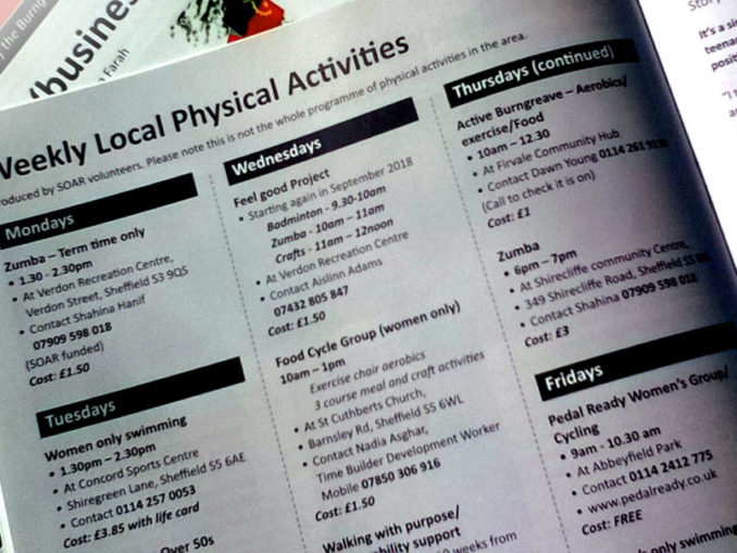 Health page August 2018
