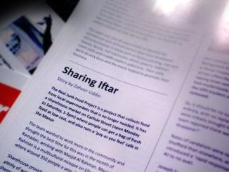Sharing Iftar article