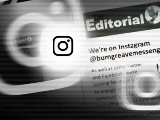 Editorial Instagram header