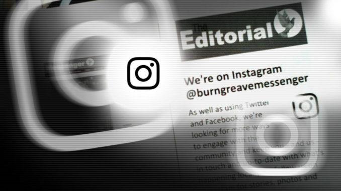 Editorial Instagram header
