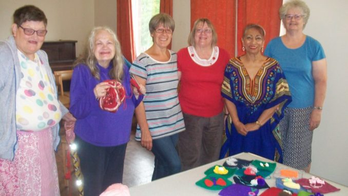 Knit and Natter Group Picture