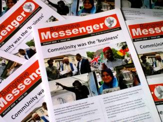 Messenger spread August 2018