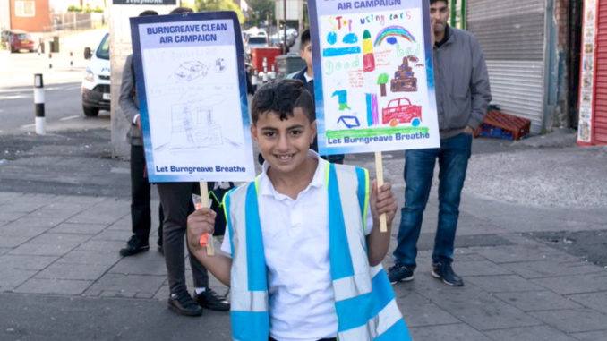 Burngreave Clean Air placards