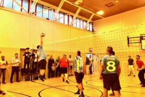 Volleyball Championships in action