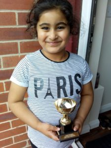 Junior Prize Winner Anum