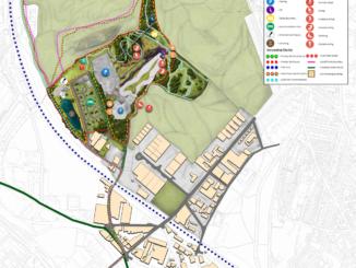 Ski Village site map