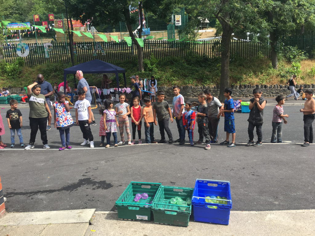 Pitsmoor Children reclaim the streets