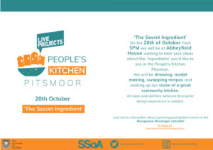 The People's Kitchen: The Secret Ingredient @ Abbeyfield Park House