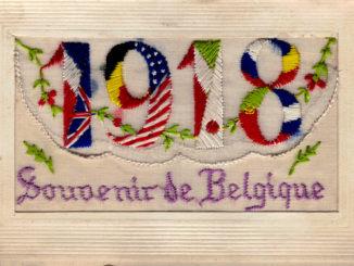 1918 Souvenir de Belgique