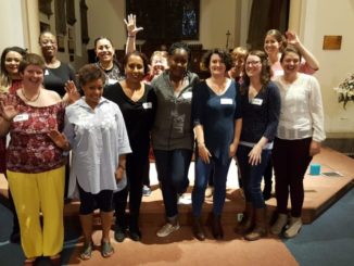 Members of Sheffield Community Choir.