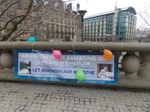 Burngreave Clean Air Campaign banne