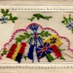 Silk Postcard flags