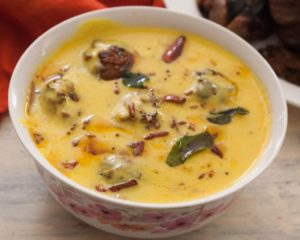 Basan kadhi curry.