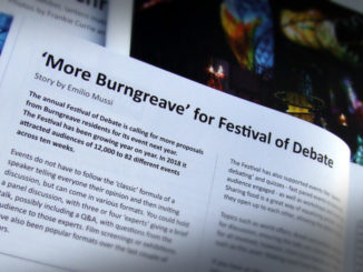 'More Burngreave' for Festival of Debate.