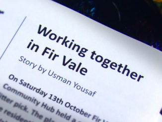 Working together in Fir Vale.
