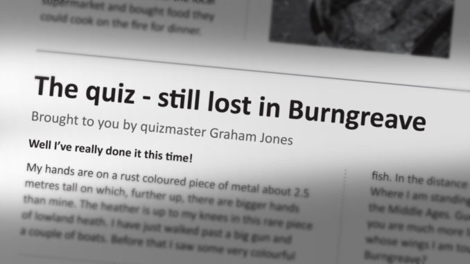Quiz - still lost in Burngreave