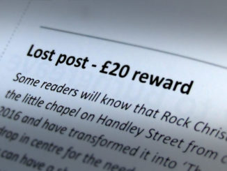 Lost post - £20 reward