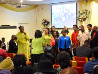 Shiloh Church Choir sing