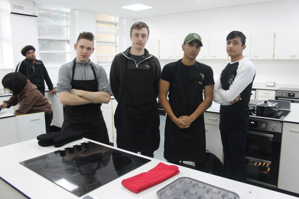 Youths at The Teaching Kitchen