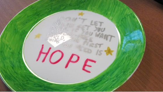 Plate Decorating HOPE