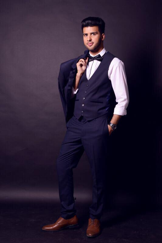 Smart picture of Adnan Hussain in a suit