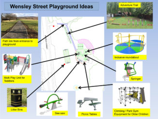Wensley Street playground plans