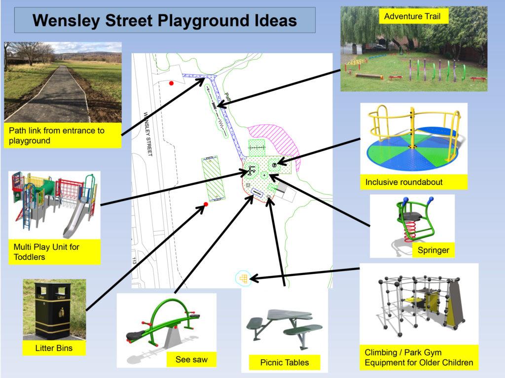 Wensley Street playground plans