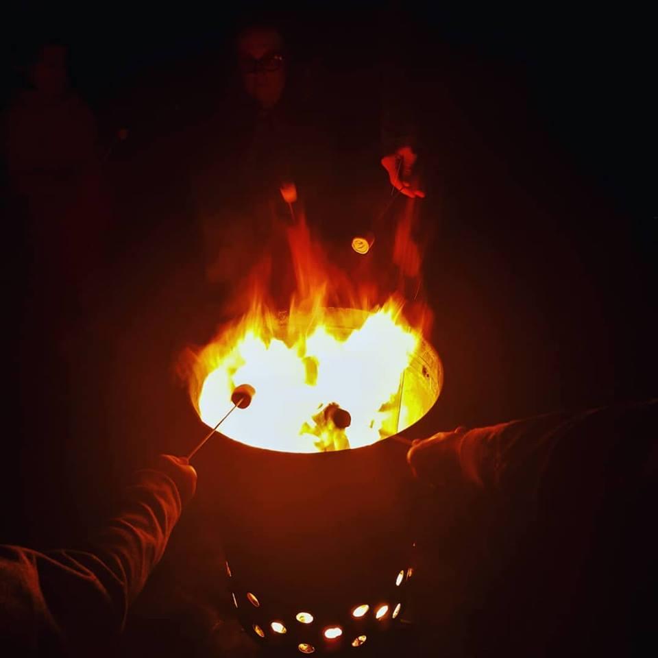 burnt marshmallows!