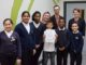 Principal and pupils at Oasis Fir Vale